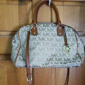 Micheal Kors signature satchel
